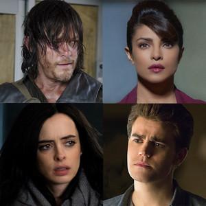 Chat Split, The Vampire Diaries, Jessica Jones, The Walking Dead, Quantico