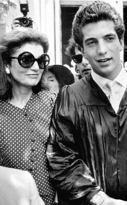 John F. Kennedy Jr, Jacqueline Kennedy Onassis