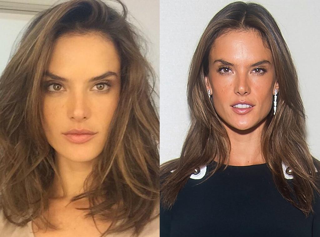Alessandra Ambrosio, Hair