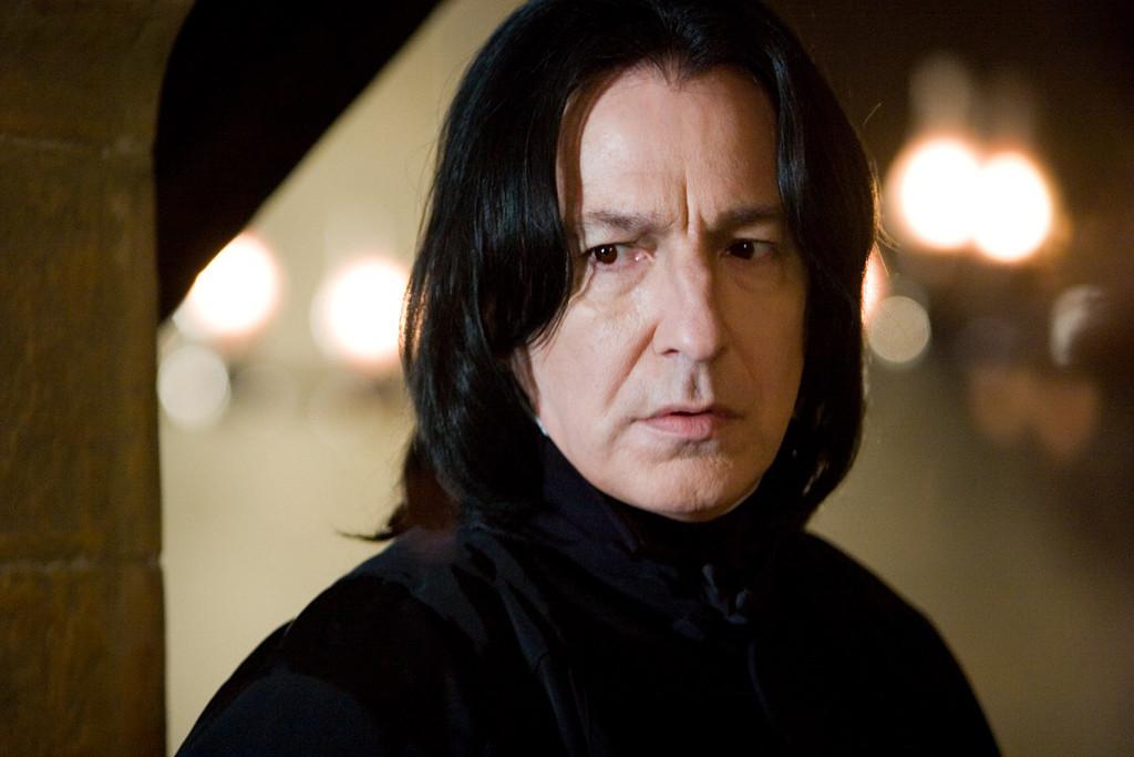 Alan Rickman, Severus Snape, Harry Potter