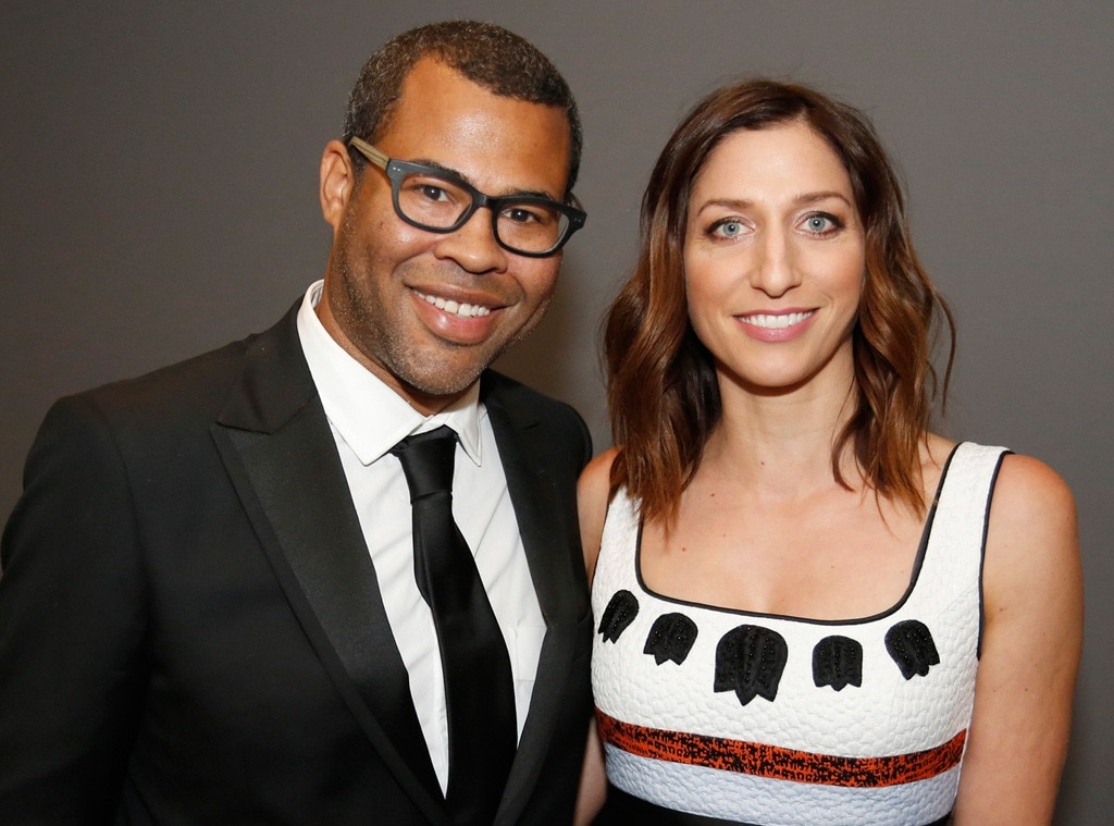Chelsea Peretti and Jordan Peele announce they're pregnant
