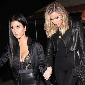 Kourtney Kardashian, Khloe Kardashian, Kendall Jenner's Birthday Party