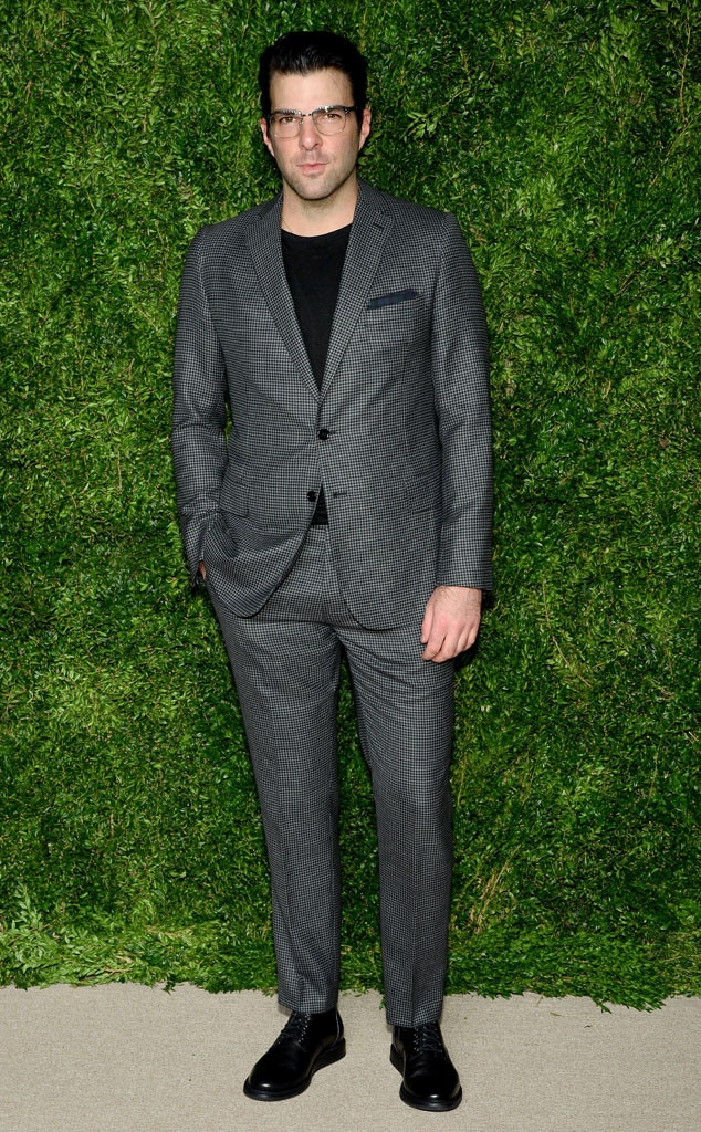 Zachary Quinto, CFDA/Vogue Fashion Fund Awards