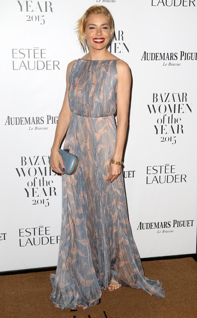 Sienna Miller, Harper's Bazaar Women of the Year Awards