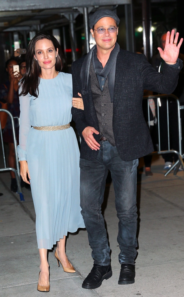 Angelina Jolie & Brad Pitt from The Big Picture: Today's ... Brad Pitt And Angelina Jolie