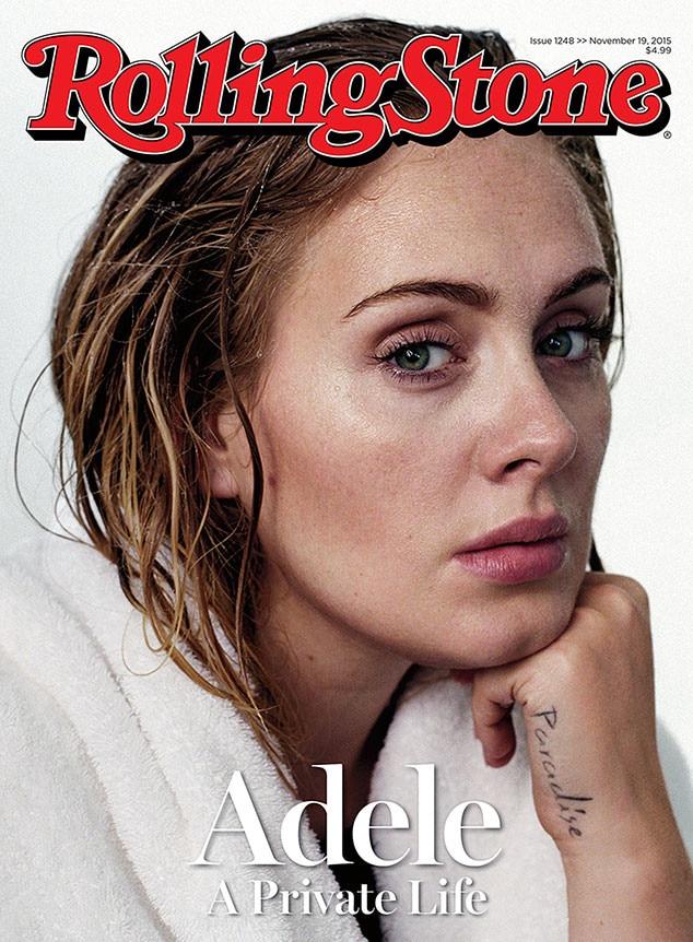 Adele, Rolling Stone, Cover, November