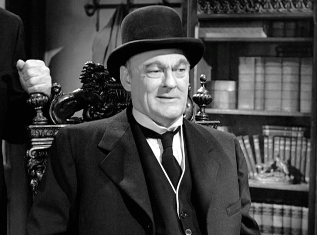 1 Mr Henry F Potter In It 39 S A Wonderful Life 1946 From Ranking Meanest Christmas Movie