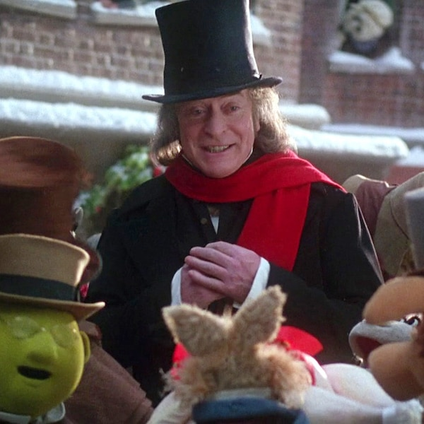 A Muppet Christmas Carol Movie Night: 3. Michael Caine As Ebenezer Scrooge In The Muppet