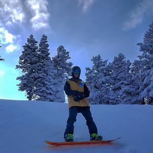 Justin Bieber, Snowboarding