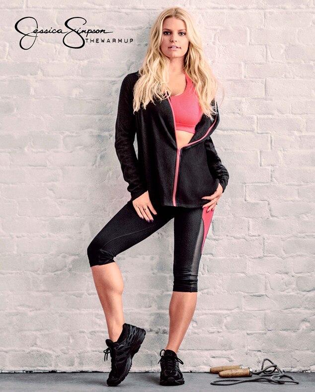 Jessica Simpson's Figure Is Smokin' in Her Activewear ...