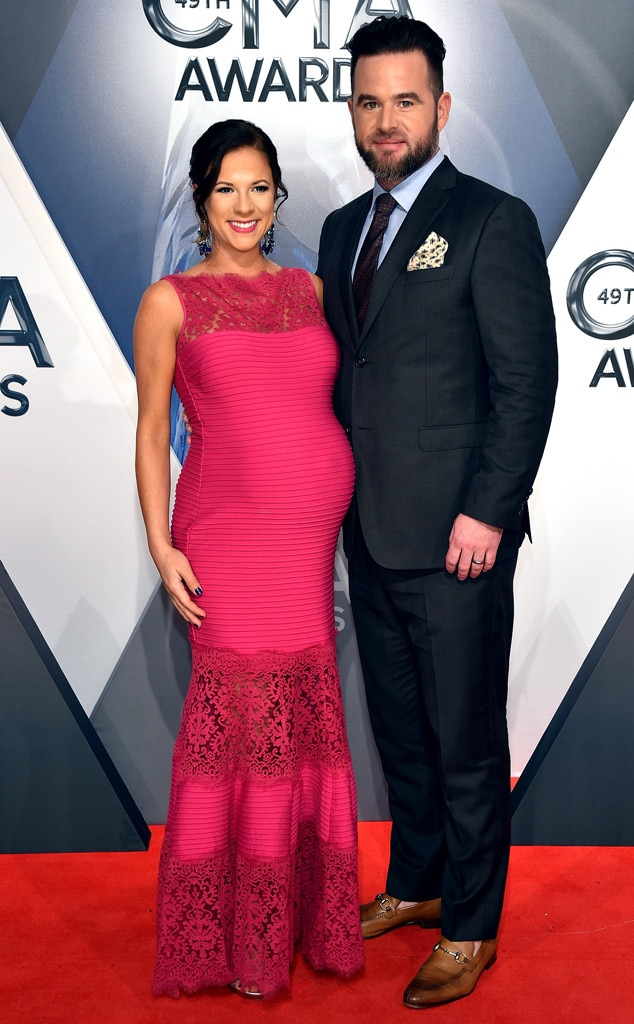 David Nail, Catherine Werne, 2015 CMA Awards