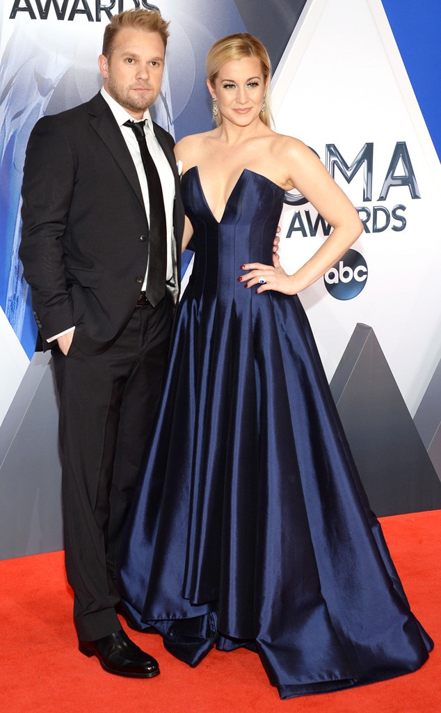 Kyle Jacobs, Kellie Pickler, 2015 CMA Awards