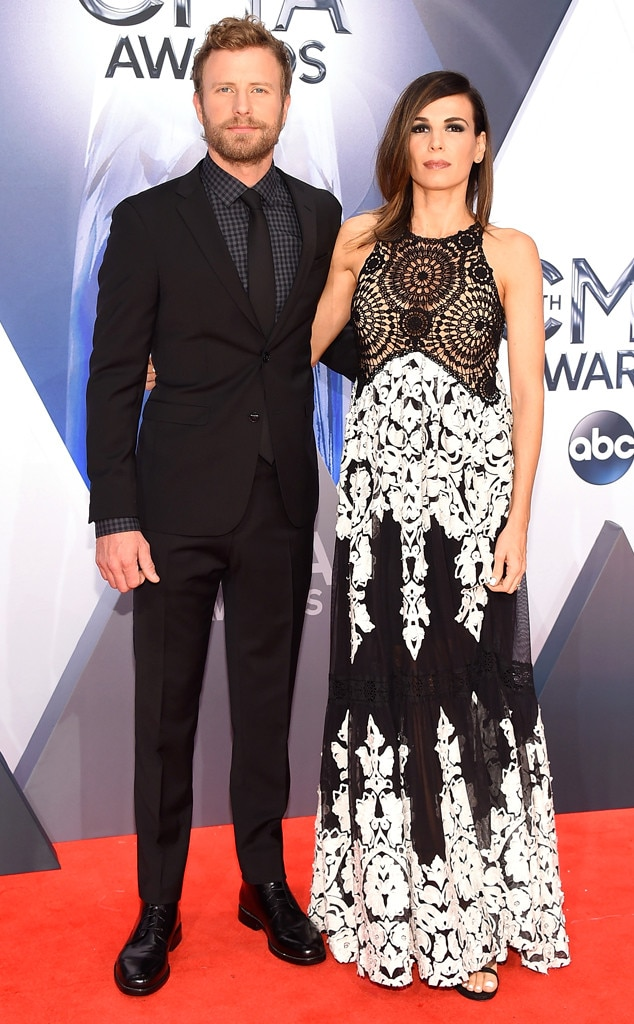 Dierks Bentley, Cassidy Black, 2015 CMA Awards