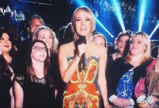 Carrie Underwood CMA's, Superhero Dress