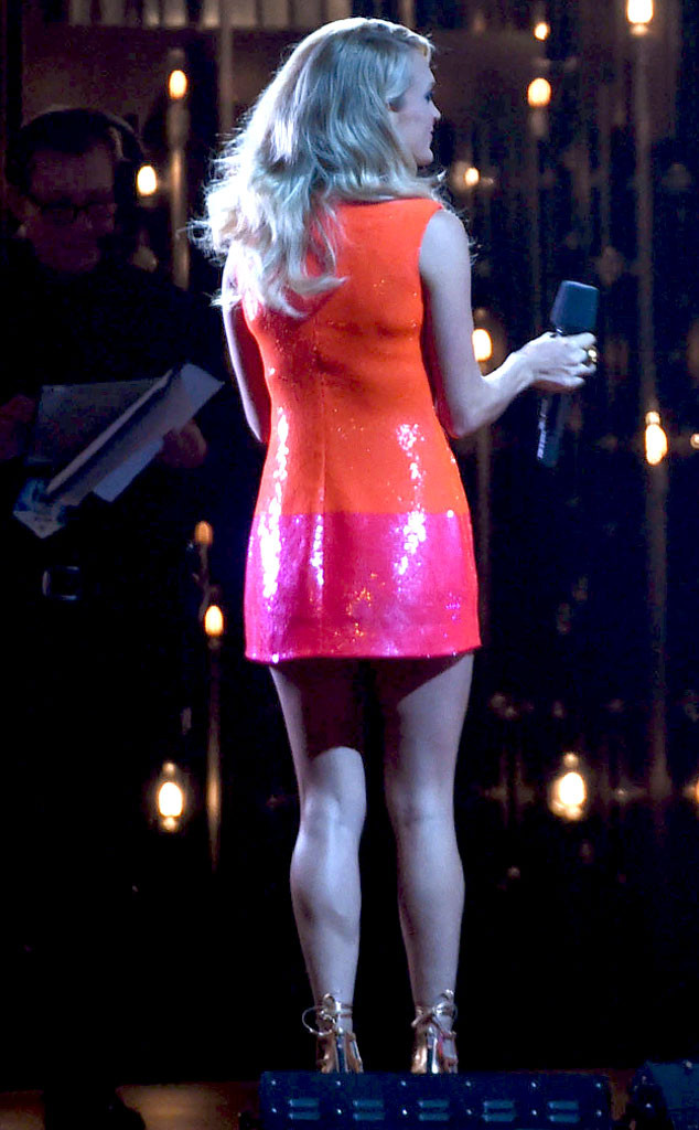 Carrie Underwood, CMA's, Sequin Kate Spade