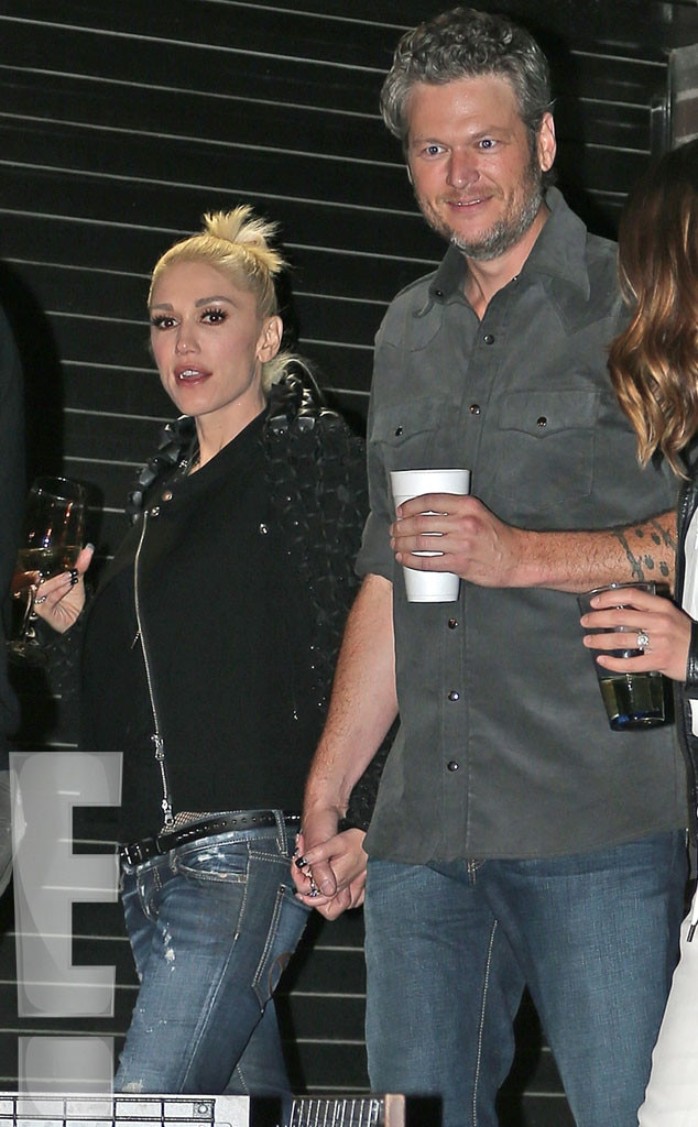 Adam Levine Calls New ... Gwen Stefani And Blake Shelton