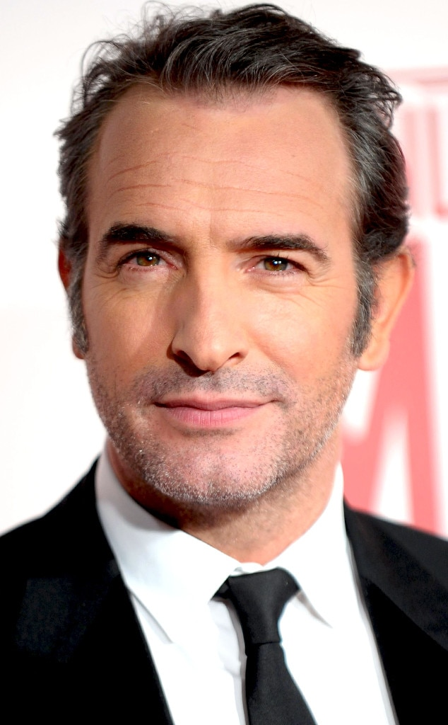 The artist 39 s jean dujardin and nathalie p chalat welcome for Film jean dujardin