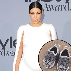 Kim Kardashian, Yeezy Baby Shoes