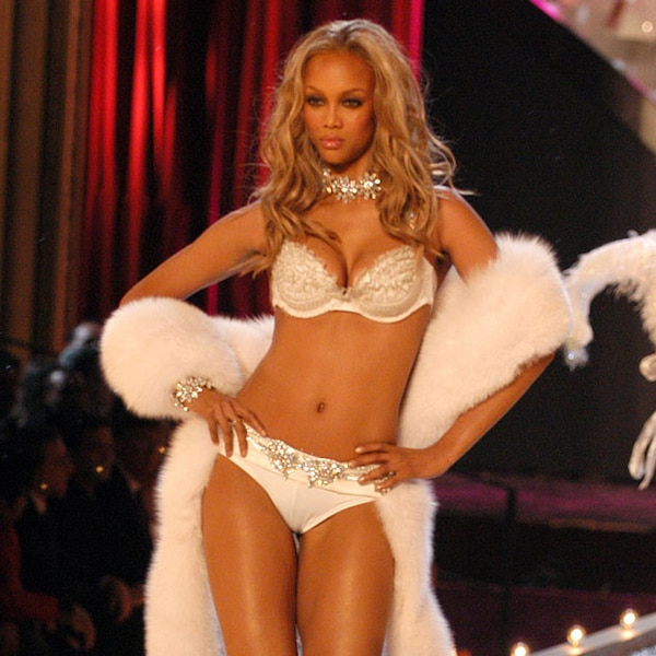 Tyra Banks Young Victoria S Secret: Tyra Banks From Most Memorable Victoria's Secret Fashion
