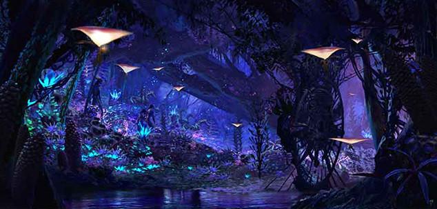 Pandora - the World of Avatar Land Concept Art, Walt Disney World