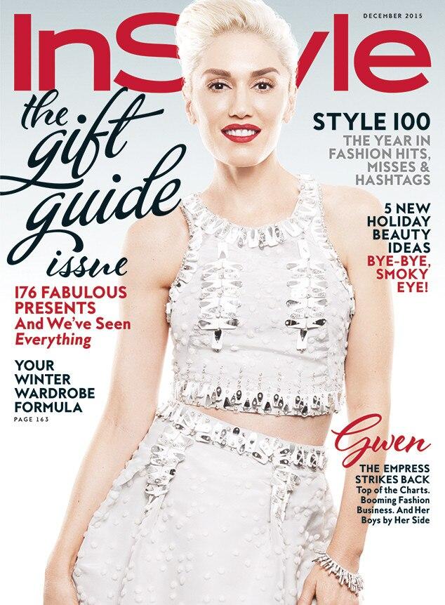 Gwen Stefani, InStyle Magazine, December 2015