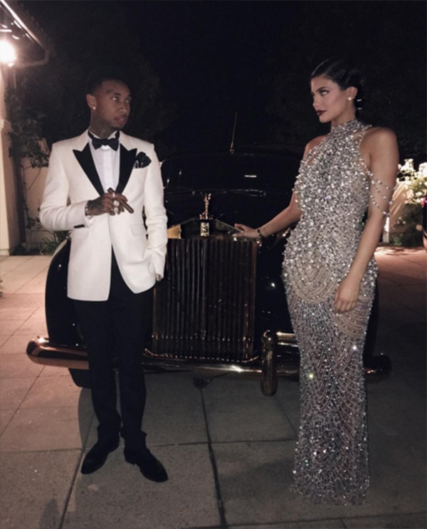 Tyga, Kylie Jenner, Kris Jenner's 60th Birthday Party