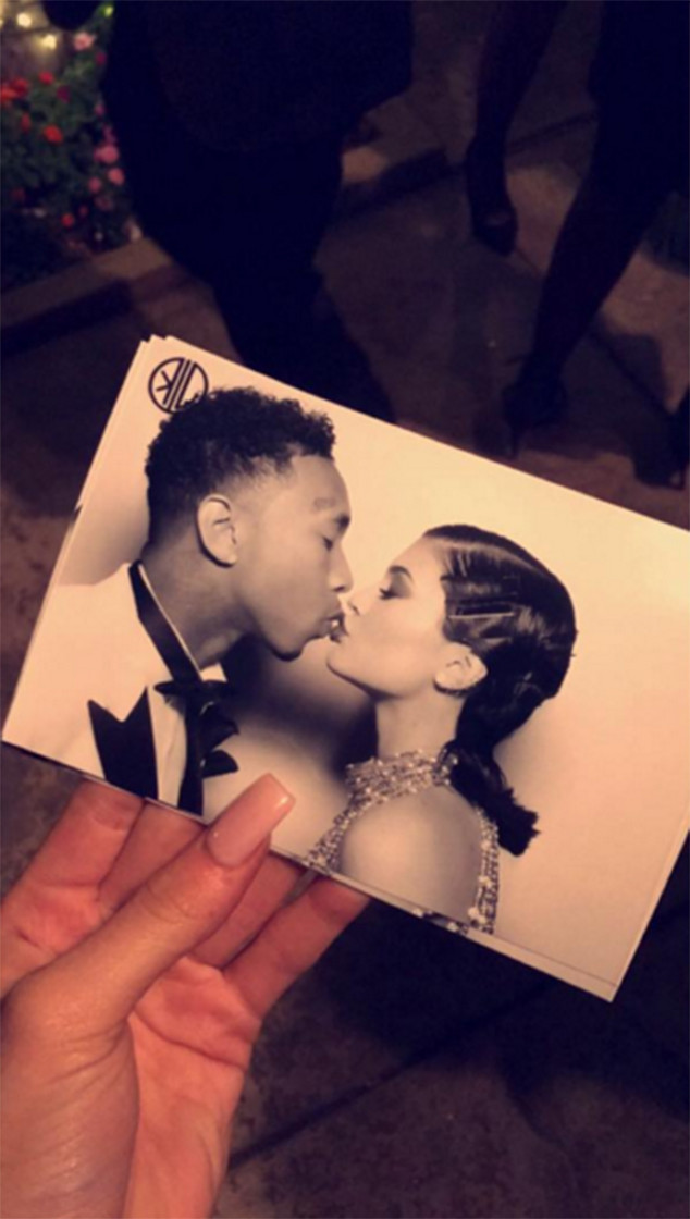 Kylie Jenner, Tyga, Kris Jenner's 60th Birthday Party