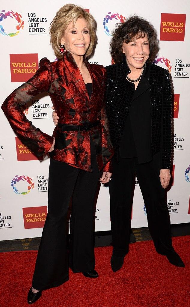 Jane Fonda, Lily Tomlin, Vanguard Awards