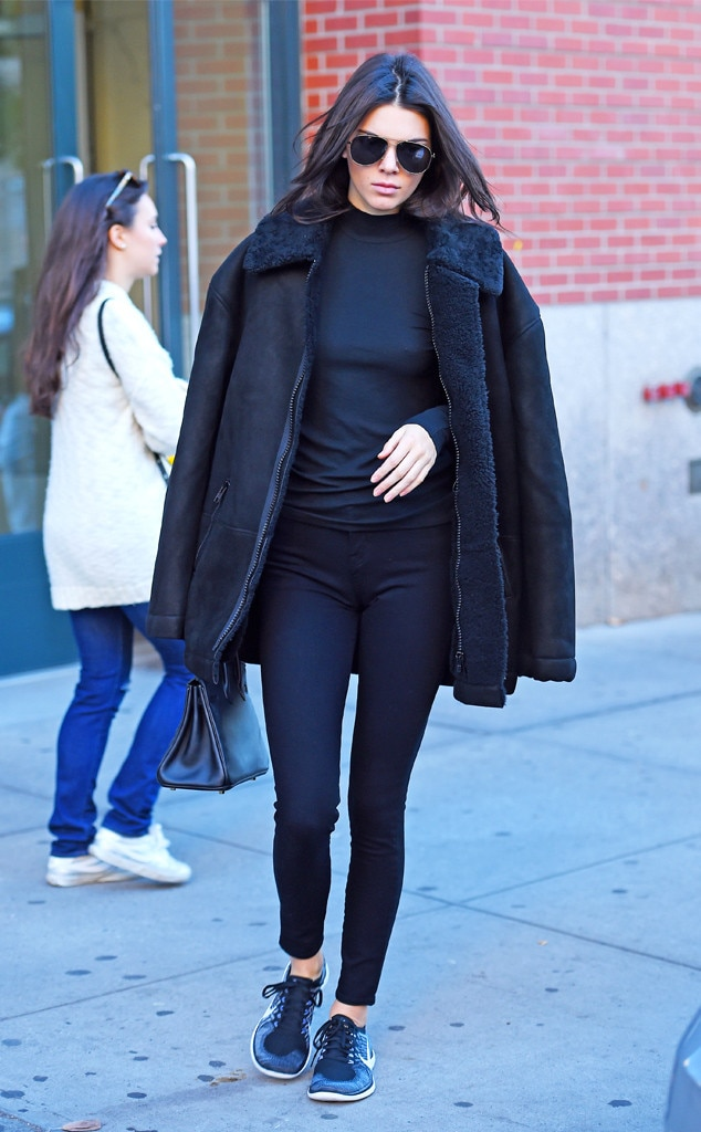 sporty spice from kendall jenner s street style e news