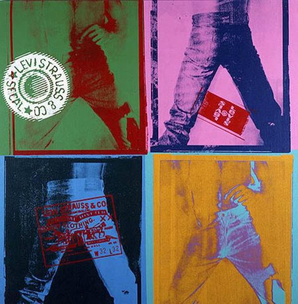 2008: Damien Hirst x Levi's x the Andy Warhol Foundation ...