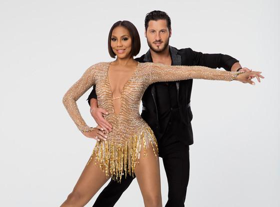 Dancing with the Stars, Tamar Braxton, Val Chmerkovksiy
