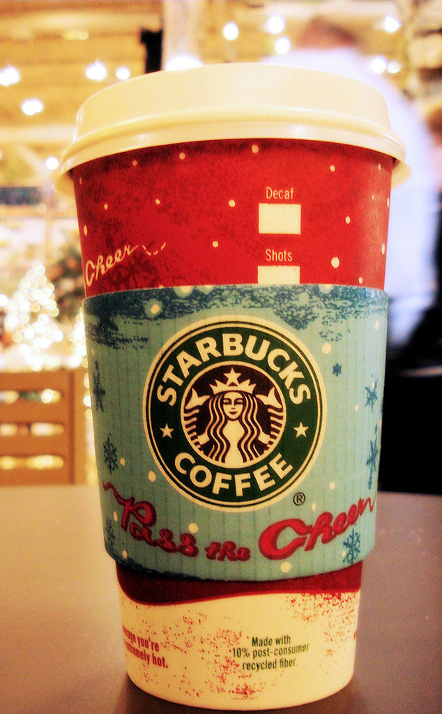 2007 Starbucks Holiday Red Cup