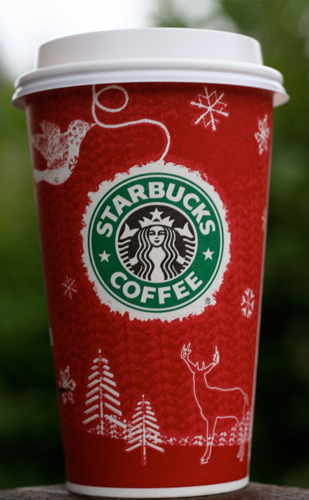 2008 Starbucks Holiday Red Cup