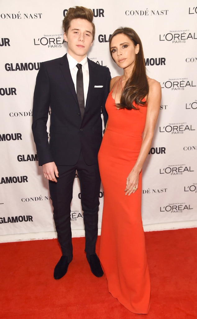 Brooklyn Beckham, Victoria Beckham, Glamour Women of the Year