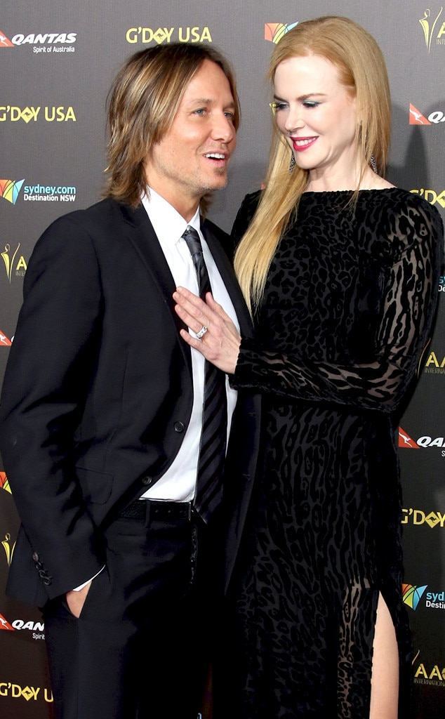 Keith Urban, Nicole Kidman, AACTA International Awards