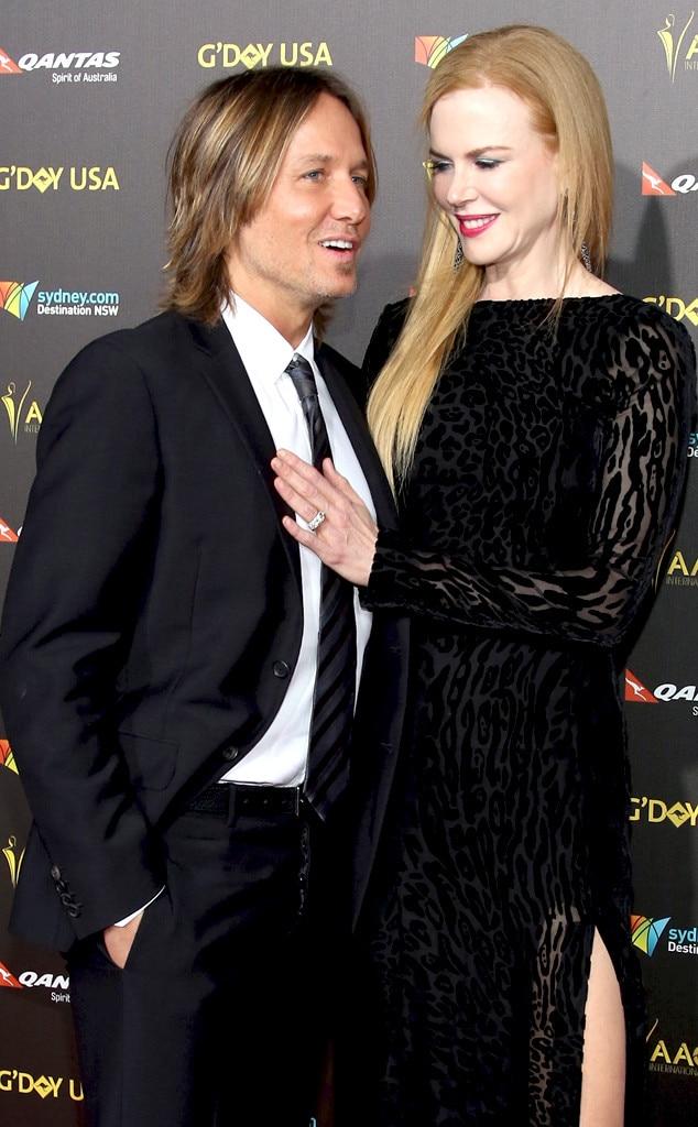 Keith Urban, Nicole Kidman, AACTA International Awards