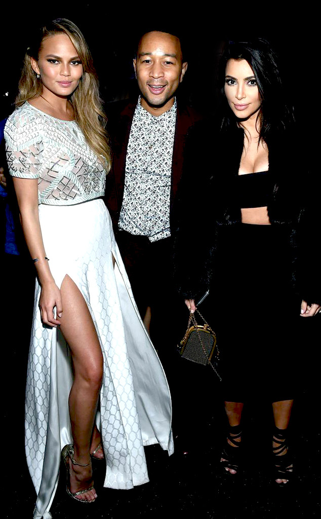 Chrissy Teigen, John Legend, Kim Kardashian