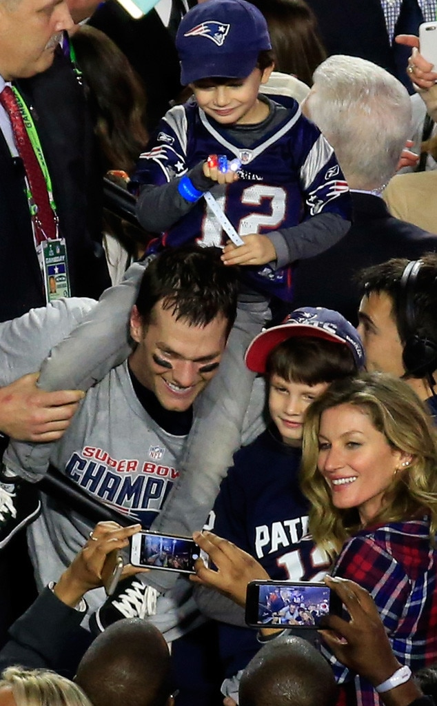 Tom Brady, Gisele Bundchen, Super Bowl XLIX
