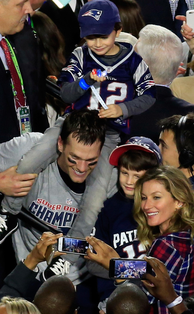 Tom Brady, Gisele Bundchen, Super Bowl XLIX