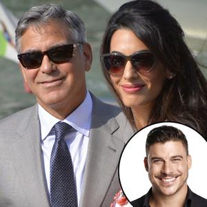 George Clooney, Amal Alamuddin, Jax Taylor