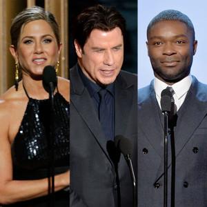 Oscars Presenters, Jennifer Aniston, John Travolta, David Oyelowo