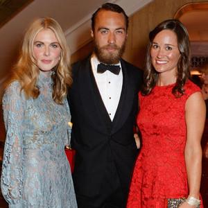 Donna Air, James Middleton, Pippa Middleton