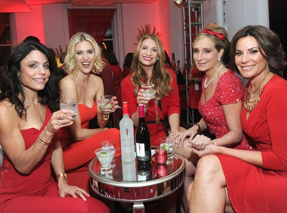 Bethenny Frankel, Kristen Taekman, Heather Thomson, Sonja Morgan, Luann de Lesseps