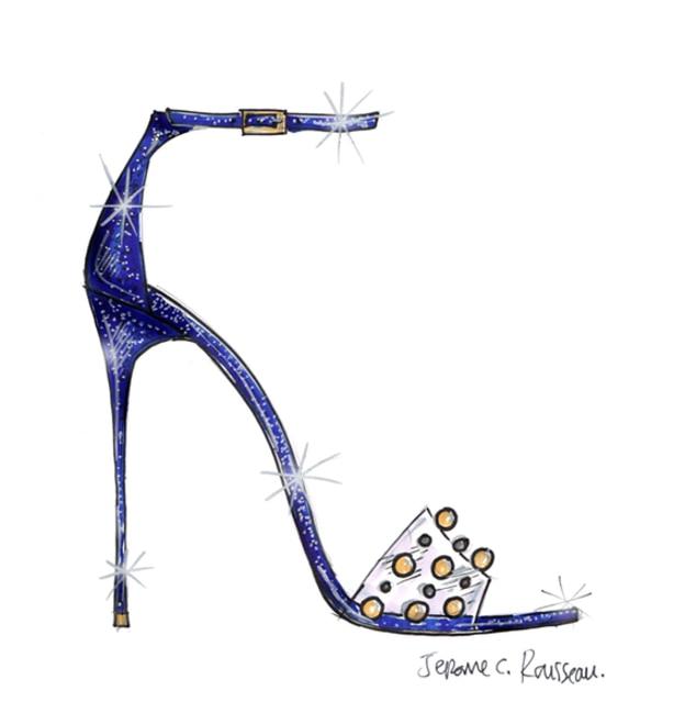 Jerome Rousseau, Cinderella Shoes, Disney, Saks Fifth Avenue