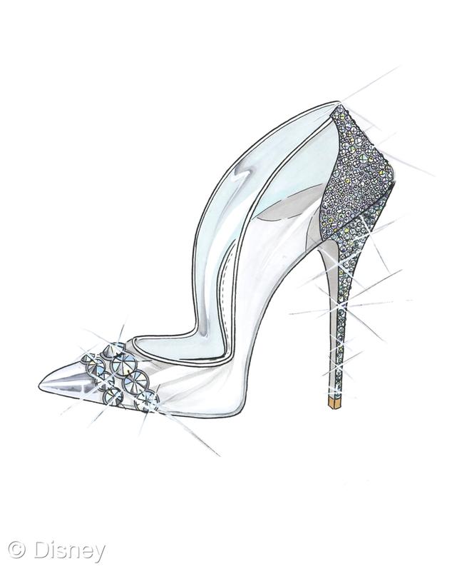 Paul Andrew, Cinderella Shoes, Disney, Saks Fifth Avenue