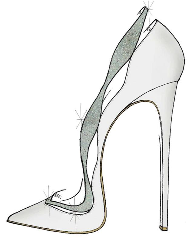 Alexandre Birman, Cinderella Shoes, Disney, Saks Fifth Avenue