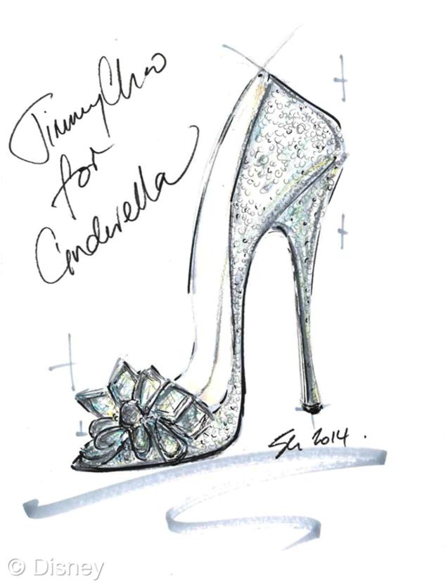 Jimmy Choo, Cinderella Shoes, Disney, Saks Fifth Avenue