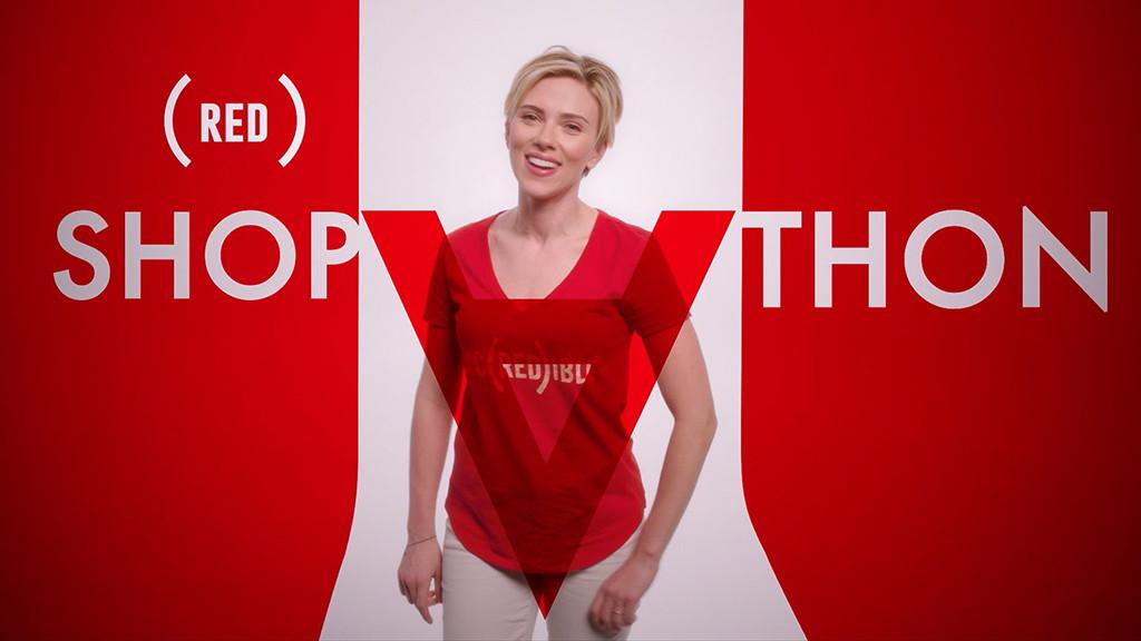 Scarlett Johansson, (RED) SHOPATHON Holiday Jingle