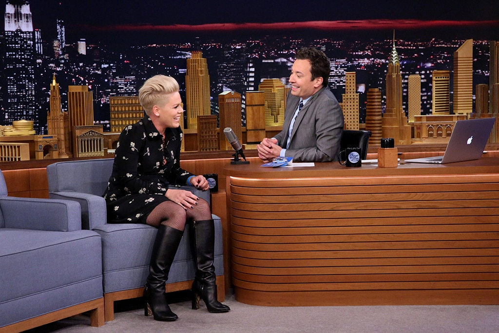 Pink, The Tonight Show