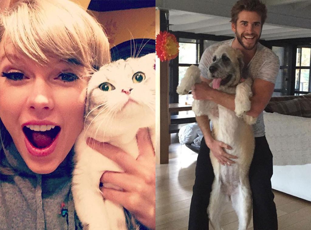 Celebrity Instagrams, Best Of, Taylor Swift, Liam Hemsworth